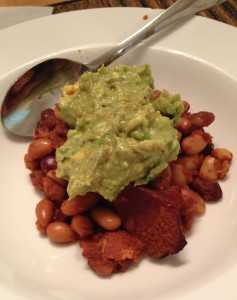 Baked Beans & Guacamole