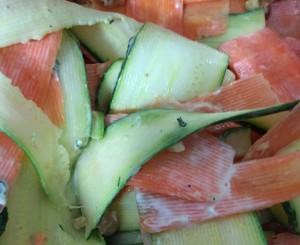 Zuchinni Carrot  Salad