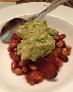 Baked Beans & Guacamole