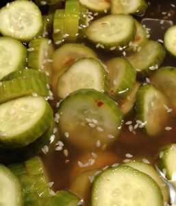 Cucumber Quickles