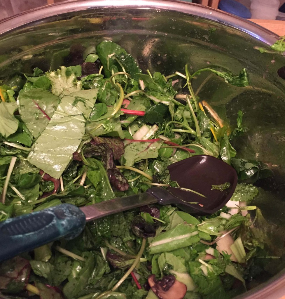 Sesame Crunch Salad