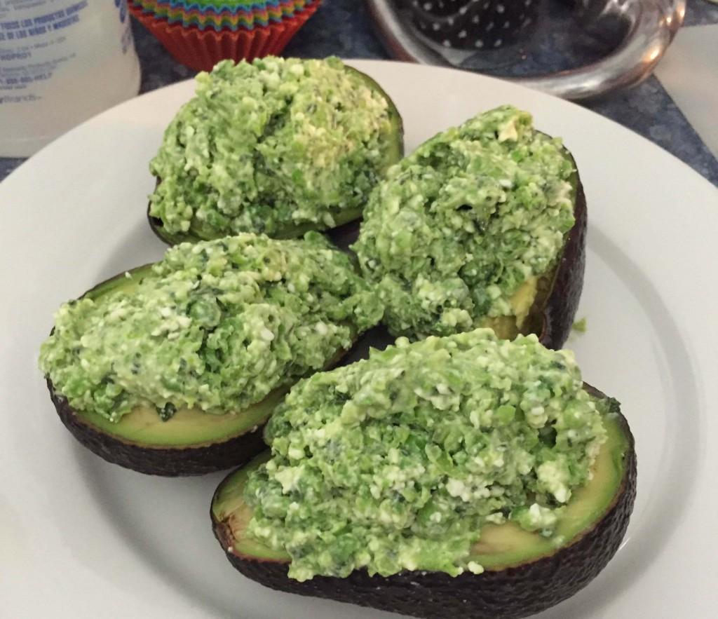 Fantastic stuffed avocado!